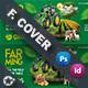 Organic Farming Cover Templates - GraphicRiver Item for Sale