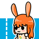 Bunny Girl Game Character - GraphicRiver Item for Sale