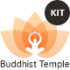Great Lotus - Buddhist Temple Template Kit - ThemeForest Item for Sale