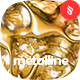 Metalline - Liquid Metallic Backgrounds - GraphicRiver Item for Sale