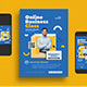 Online Business Class Flyer - GraphicRiver Item for Sale