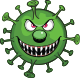 Virus or Coronavirus Cartoon Vector Characters - GraphicRiver Item for Sale