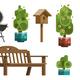 Garden Design Furniture - GraphicRiver Item for Sale