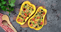 Baked butternut squash with vegetables - PhotoDune Item for Sale