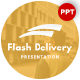 Flash Delivery Presentation Template - GraphicRiver Item for Sale