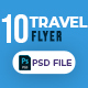 Travel 10 Flyer Template - GraphicRiver Item for Sale