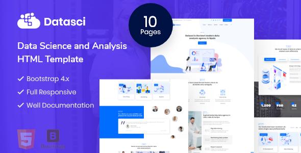 Datasci - Data Science & Analytics HTML Template