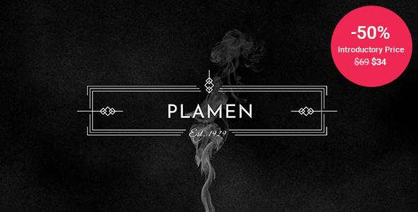Plamen – Tobacco Store Theme Preview