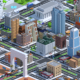 Low Poly City Pack American Dream city - 3DOcean Item for Sale