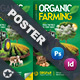 Organic Farming Poster Templates - GraphicRiver Item for Sale