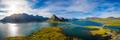 Fredvang Bridges Panorama Lofoten islands - PhotoDune Item for Sale