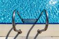 Grab bars ladder in the swimming pool - PhotoDune Item for Sale