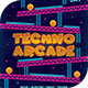 Techno Arcade New 5 Flyer Template