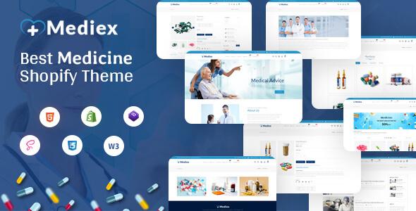 Medix - Medical Shop Shopify Theme