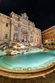 The famous Fontana di Trevi in Rome at night - PhotoDune Item for Sale