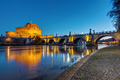 The Castel Sant Angelo and the Sant Angelo bridge - PhotoDune Item for Sale