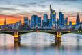 The skyscrapers of Frankfurt in Germany - PhotoDune Item for Sale
