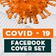 COVID-19 Facebook Cover Set - 05 Designs - GraphicRiver Item for Sale