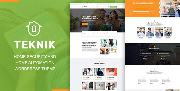 Photo of Teknik – Home Security Agency WordPress Theme Full Download