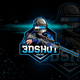 Sniper Logo For Mobile Game - GraphicRiver Item for Sale