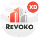 Revoko - Construction XD Template - ThemeForest Item for Sale