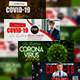 Covid 19 Facebook Cover - GraphicRiver Item for Sale