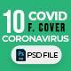 Covid-19 & Coronavirus 10 Facebook Cover - GraphicRiver Item for Sale