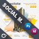 Real Estate Social Media Templates - GraphicRiver Item for Sale