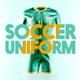 Soccer Uniform Animated Mockup - GraphicRiver Item for Sale