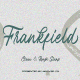 Frankfield Font - GraphicRiver Item for Sale