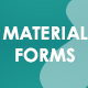 Modern Material Design Forms - CodeCanyon Item for Sale