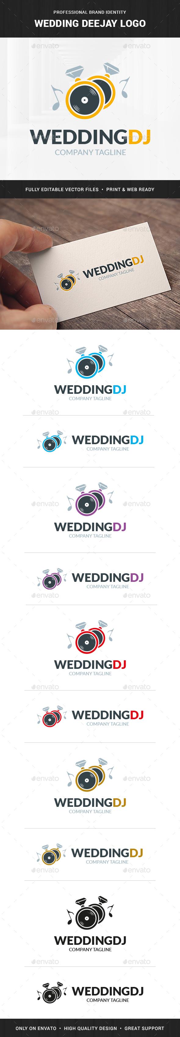 Wedding Deejay Logo