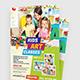 Kids Art Classes Flyer - GraphicRiver Item for Sale