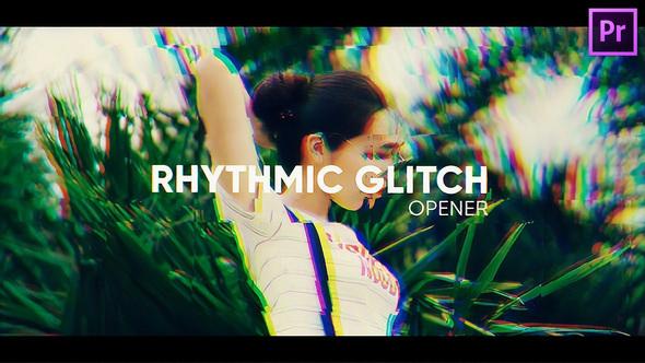 Rhythmic Glitch Opener for Premiere Pro