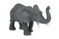 Elephant toy figure on white background - PhotoDune Item for Sale