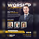 Worship Conference Flyer Templates - GraphicRiver Item for Sale