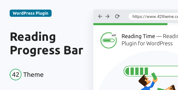 Reading Time — Reading Progress Bar for WordPress