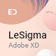 LeSigma - Isometric Business Adobe XD Landing Page Template - ThemeForest Item for Sale