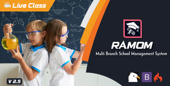 Ramom - Multi Branch School Management System Download