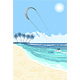 Kite Surfing Summer Watersport Poster - GraphicRiver Item for Sale