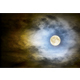Full Moon Over Dark Cloudy Sky - GraphicRiver Item for Sale