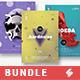 Minimal Sound vol.12 – Party Flyer / Poster Templates Bundle - GraphicRiver Item for Sale