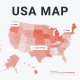 USA Map Infographics - VideoHive Item for Sale