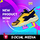 Product Social Media Animation Banner - GraphicRiver Item for Sale