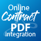 WP Online Contract PDF Print Integration - CodeCanyon Item for Sale
