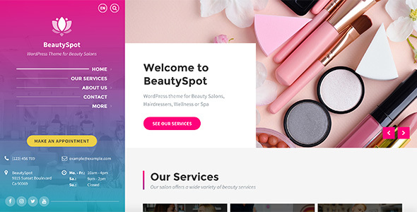 BeautySpot - WordPress Theme for Beauty Salons Free Download #1 free download BeautySpot - WordPress Theme for Beauty Salons Free Download #1 nulled BeautySpot - WordPress Theme for Beauty Salons Free Download #1