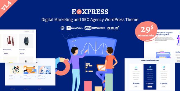 Eoxpress   Marketing Agency WordPress Theme