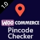 WooCommerce Pincode/ Zipcode Checker - CodeCanyon Item for Sale