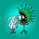 The Doctor Risks His Life, Infection with - GraphicRiver Item for Sale
