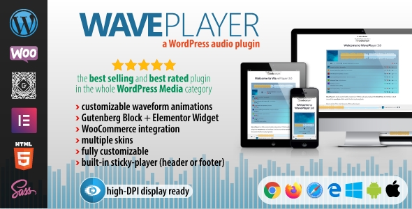 WavePlayer - WordPress Audio Player with Waveform and Playlist Free Download #1 free download WavePlayer - WordPress Audio Player with Waveform and Playlist Free Download #1 nulled WavePlayer - WordPress Audio Player with Waveform and Playlist Free Download #1